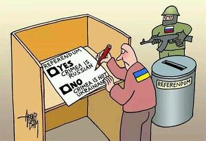"""Referendum"" in Crimea: no option to stay in Ukraine. 2014.03.16. [34]"